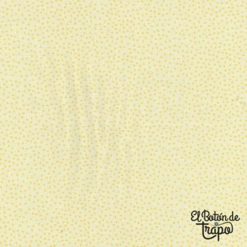 Tela Willowbrook Mini Dots Yellow