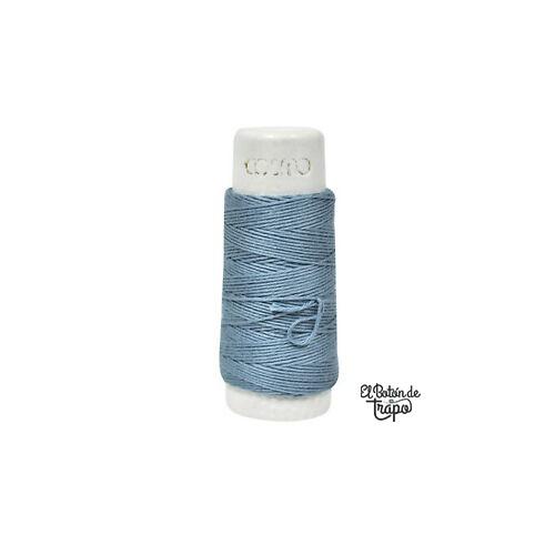 Hilo Sashiko Cosmo Lecien Azul Solid 1