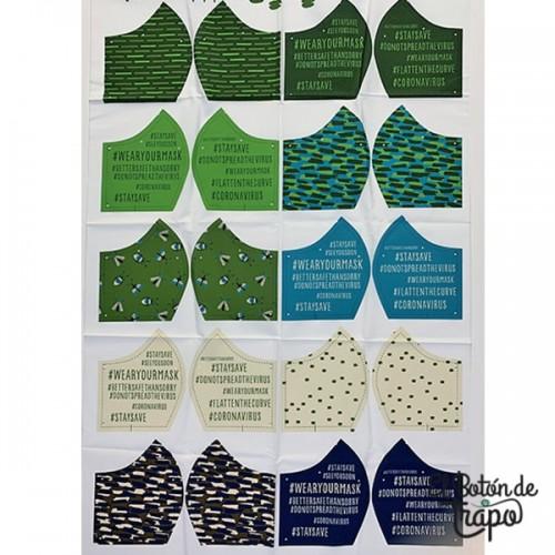 Kit Mascarillas Reutilizables Camo