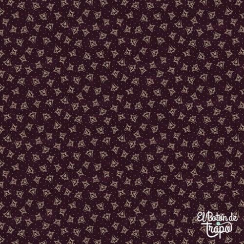Tela Abby´s Treasures Formas Violeta