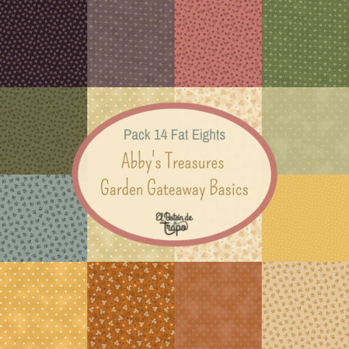 Pack 14 Fat Eights Abby's Treasures &...