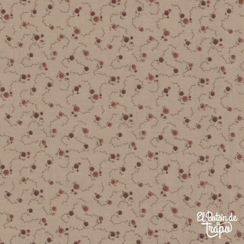 Tela Quilters Basic Dusty Flores