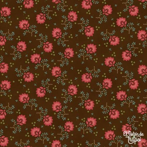 Tela Kim Diehl Pink Flower