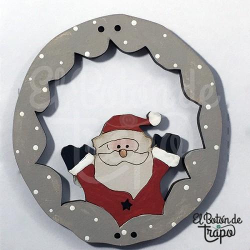 Botón Noel Circulo