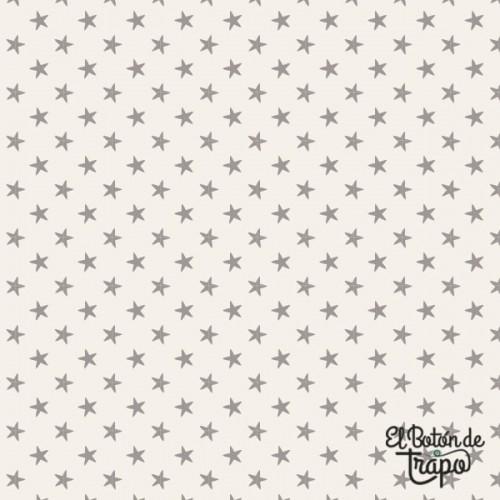 Tela Tilda Tiny Star Grey