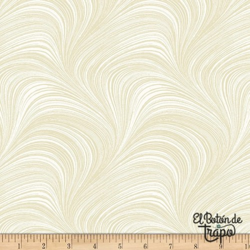 Tela Trasera Wide Wave Cream