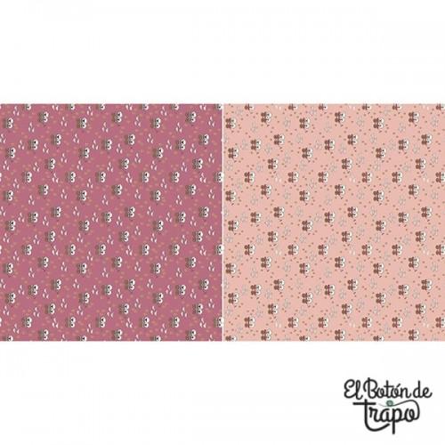 Tela Willowbrook Sheep Light/Dark Pink