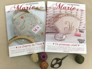 Revistas Marie Suarez Les Broderies de Marie e Cie