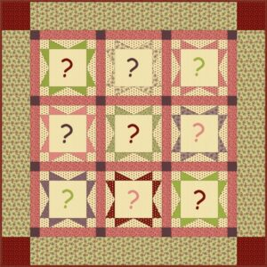 Esquema Quilt Winter Welcome QAL